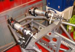 Rear suspension units